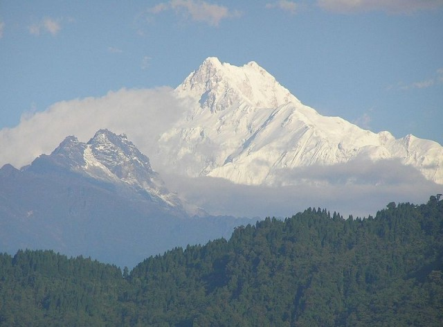 Гора Канченджанга, Сикким