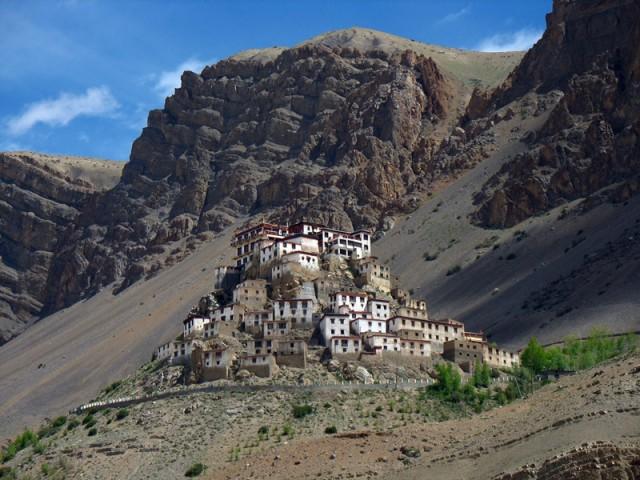Монастырь Ки в Спити