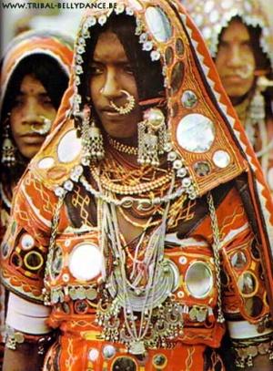 Представительница одного из племен Раджастана