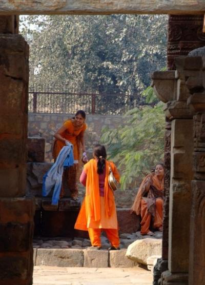 В Красном форте в Дели
