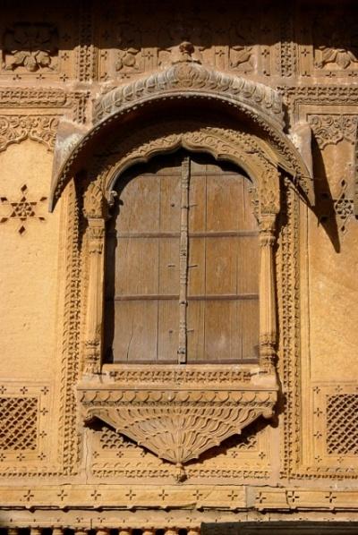 Резные окна Джайсалмера