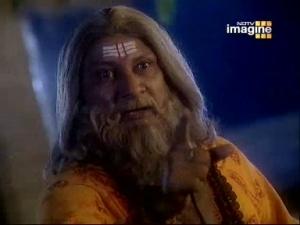 Бхригу проклинает Нараяну