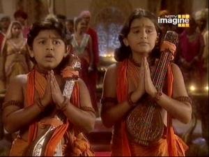 """Бхагавати Сита - наша мать"" - пели дети"
