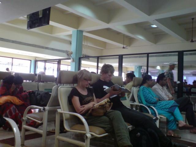 Зал вылета терминал В (Даболим)
