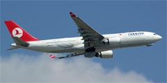Самолет Turkish Airlines