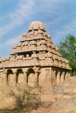 Храм в Махабалипурам