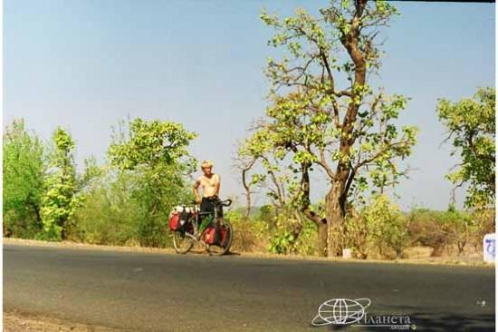 На индийской дороге