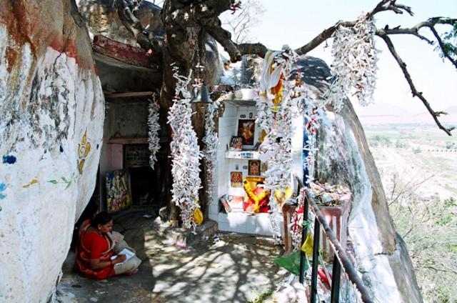 Место медитаций Саи Бабы.