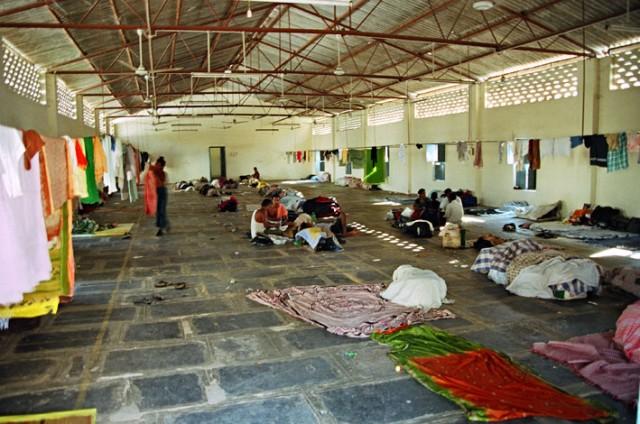 Индийское общежитие.
