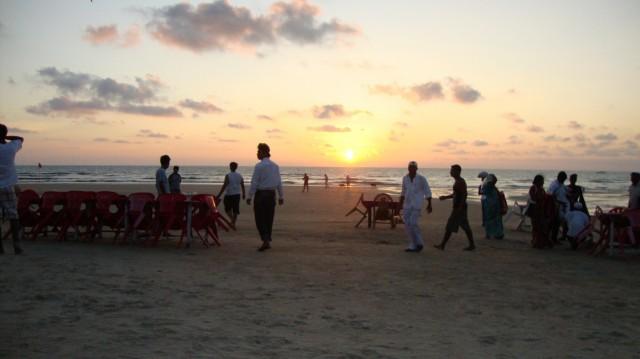 Just a little of Goa sunset