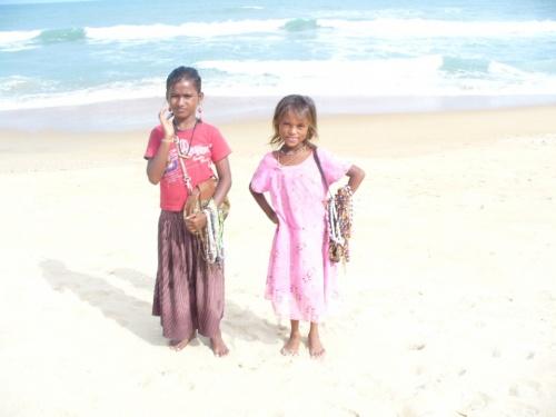 девочки Бенгальского залива