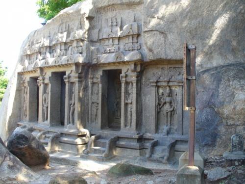 скальные храмы Мамалопурама