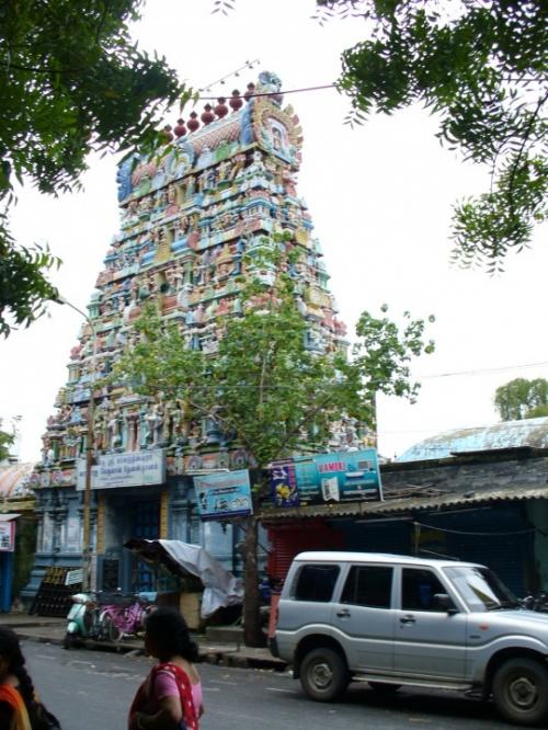 Пондичерри. Темпл в тамильском квартале