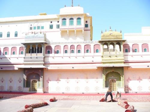Джайпур. Дворец махараджей