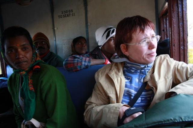 В игрушечном поезде с Шимлы в Калку