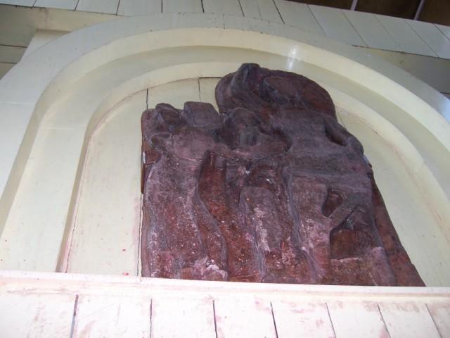Лумбини Статуя Матери Будды рядом с Местом Рождения Будды