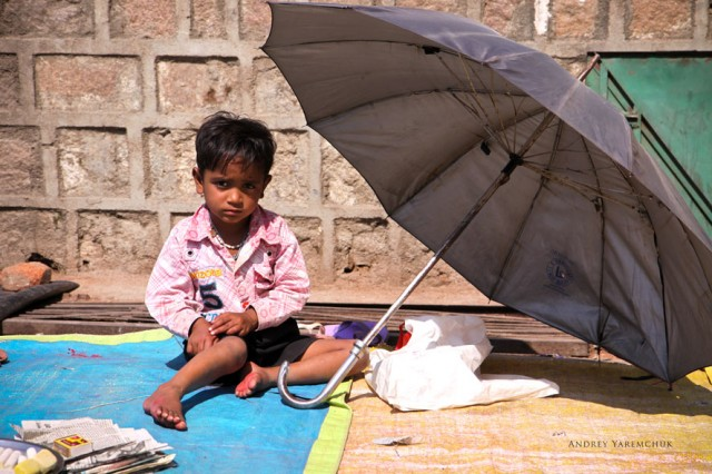 umbrella, Orchha