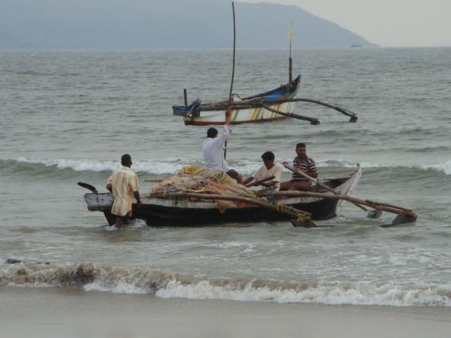 Рыбаки в Палолеме