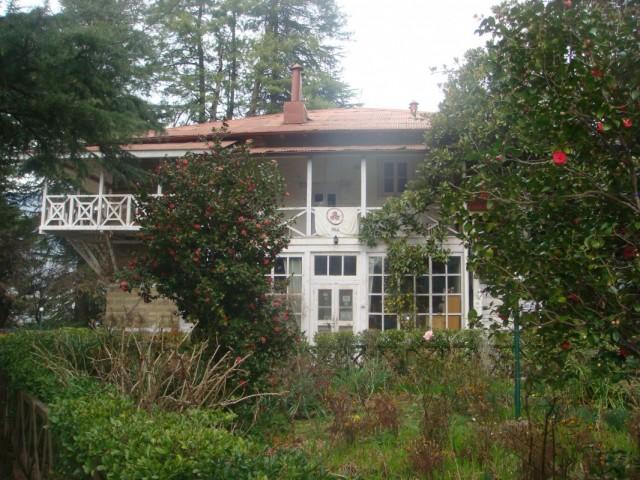 Дом, в котором жили Рерихи