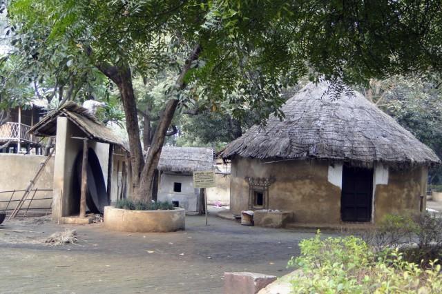 Пустынная хижина из региона Bhuj, Gujarat