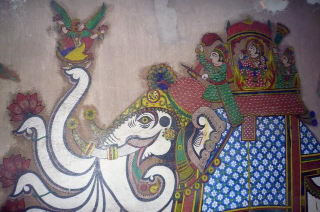 Настенная роспись, Раджастан