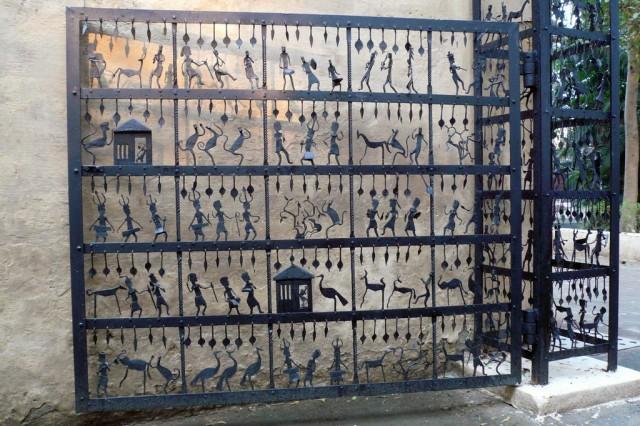 Кованые ворота обалденной занимательности