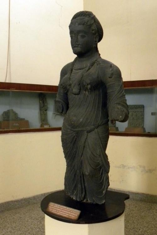 Чем не греческая скульптура? :) Музей Матхуры