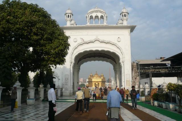 Вид от Гуру ка Лангар