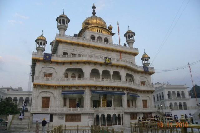 Акал Такхат - здание Сикхского парламента