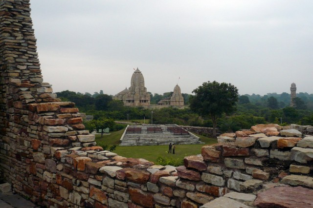Вид из Дворца Кумбхи