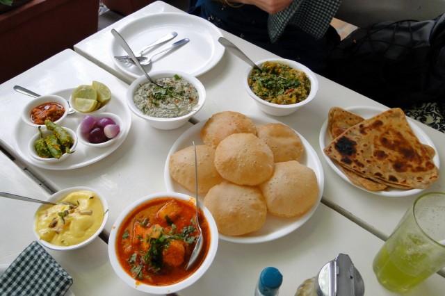 Обед в Green Restaurant