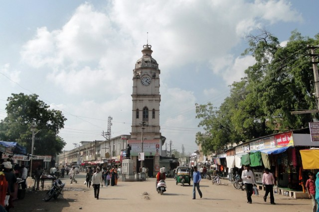 Площадь с часами, Сиддпур