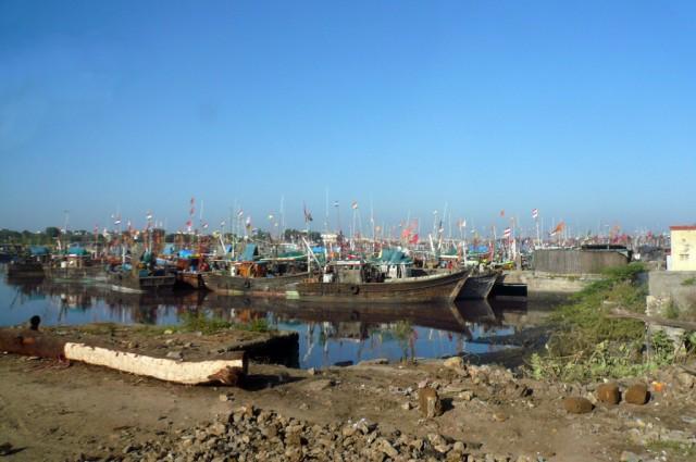 Рыбацкие лодки в Веравале