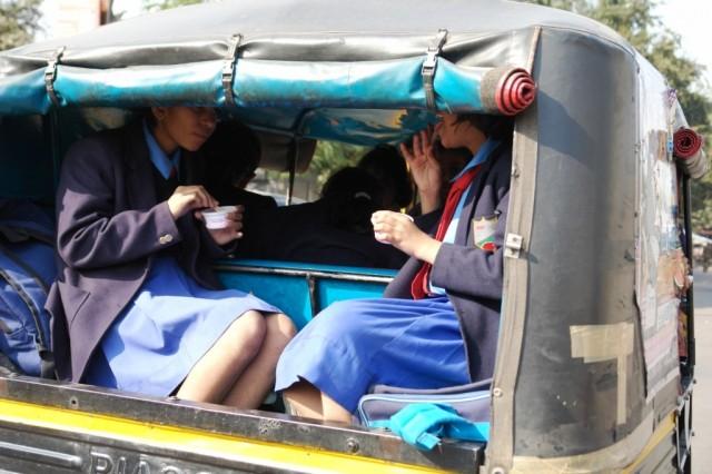 Джайпур. Школьники.