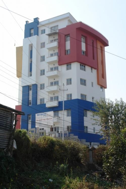 Новые постройки