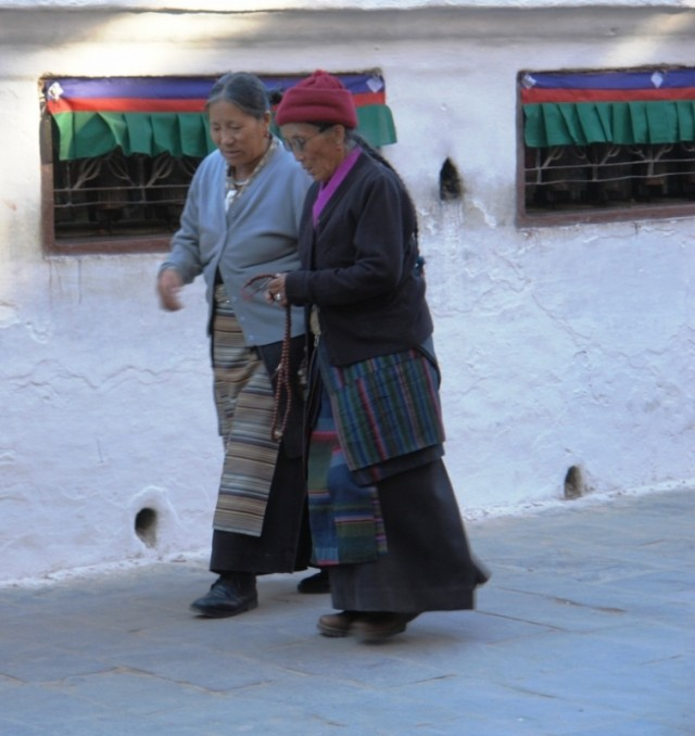 Тибетские бабушки