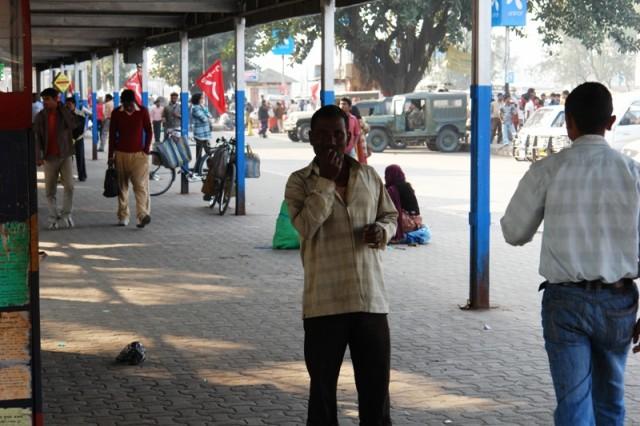 Ж/д станция New Jalpaiguri (Западная Бенгалия)_01