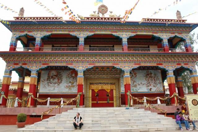 Главный вход монастыря