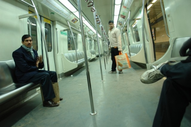 в Делийском метро
