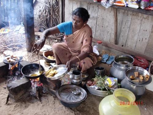 Обед в рыбацкой деревне