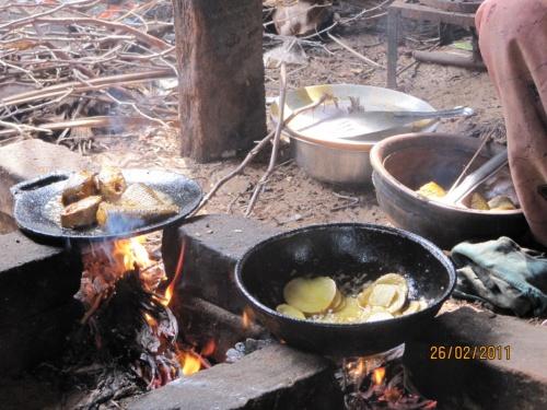 готовится наш обед