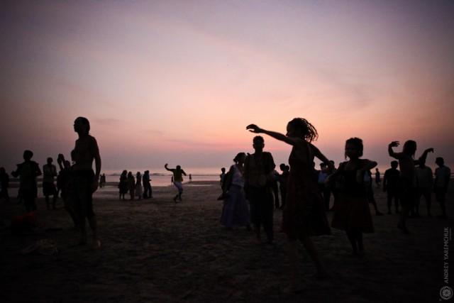 sunset drum
