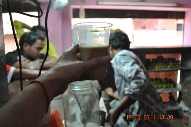 В итоге напиток по виду со стола черепахи Тортиллы