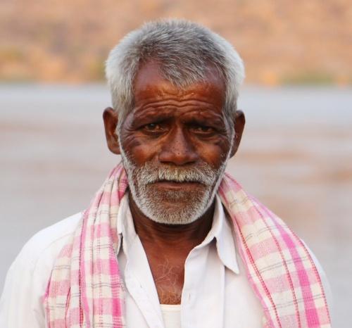 Портрет водителя лодки