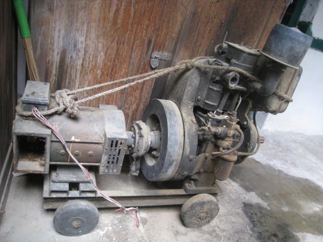 нагар, дом рериха, винтажный генератор