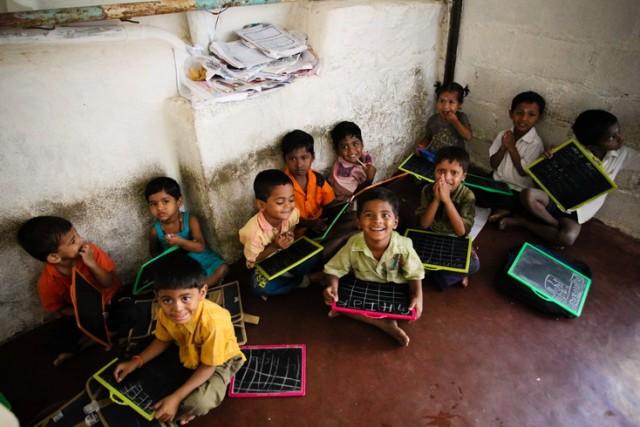 дети из школы для бедных