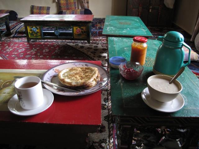 Тибетский завтрак