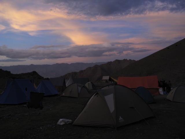 Базовый лагерь Сток Кангри