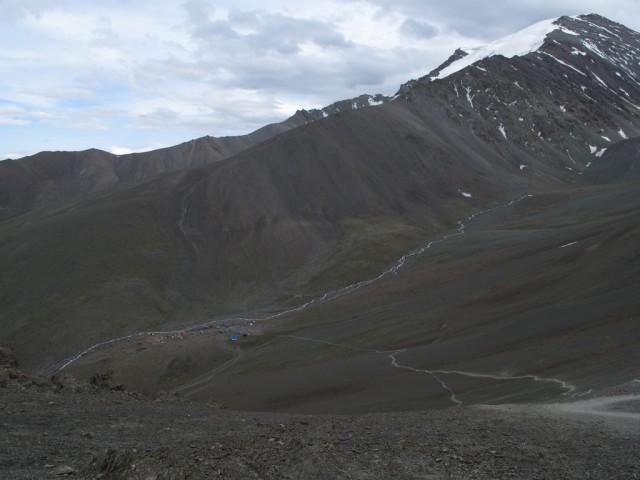 Дорога от лагеря