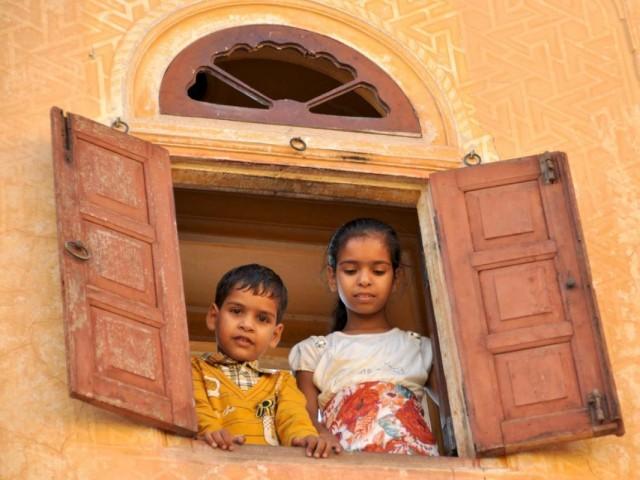 Брат и сестра. Джайпур.